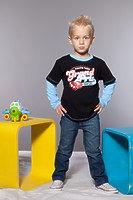 Фуфайка для мальчика dfm-1103