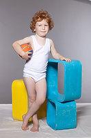 Комплект (трусы + майка) для мальчика dkt-1
