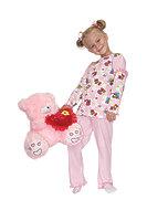 Пижама детская для девочек с фонариком dp-1202