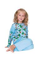 Пижама детская для девочек с фонариком dp-1204