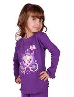 "Пижама для девочки ""Карета"" dp-1409"
