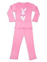 """Пижама для девочки """"Кролик"""" dpd-5"""