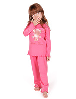 """Пижама для девочек """"Железный мишка"""" dps-1411"""